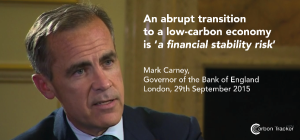 Bank of England Echoes Warnings of Carbon Tracker