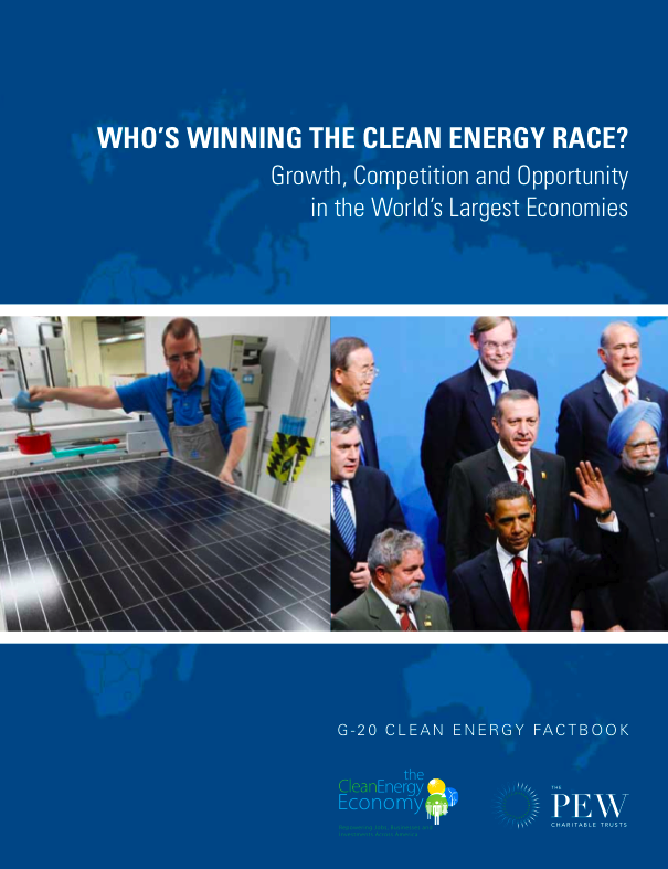 Key new report on Greening the World Economy